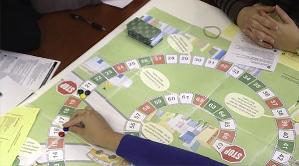 life course theory board game