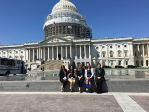 LEND trainees at the Capitol Building